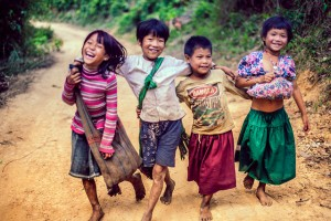 Burmese-children